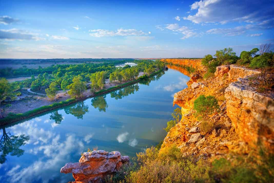 Самые длинные реки Австралии