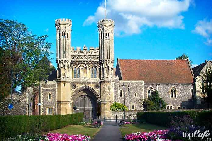 Английская готическая архитектура: Аббатство Святого Августина