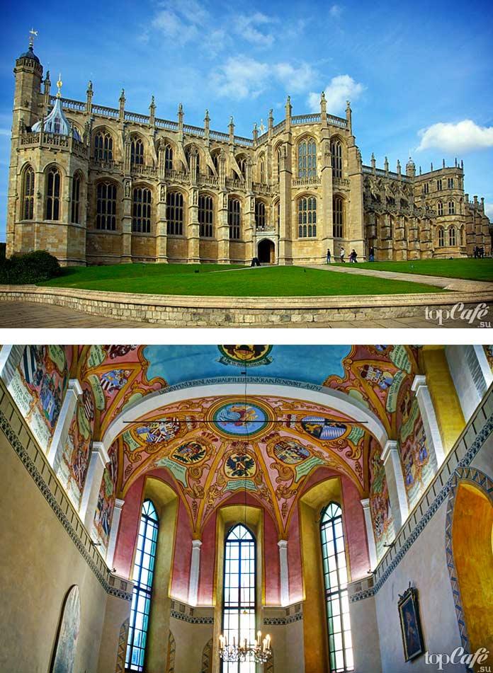 Английская готическая архитектура: Капелла Святого Георга