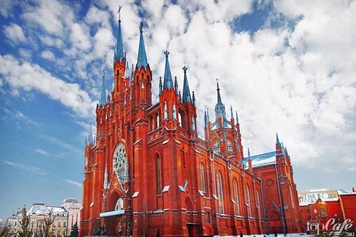 Удивительные готические места Москвы: Собор Непорочного Зачатия Пресвятой Девы Марии