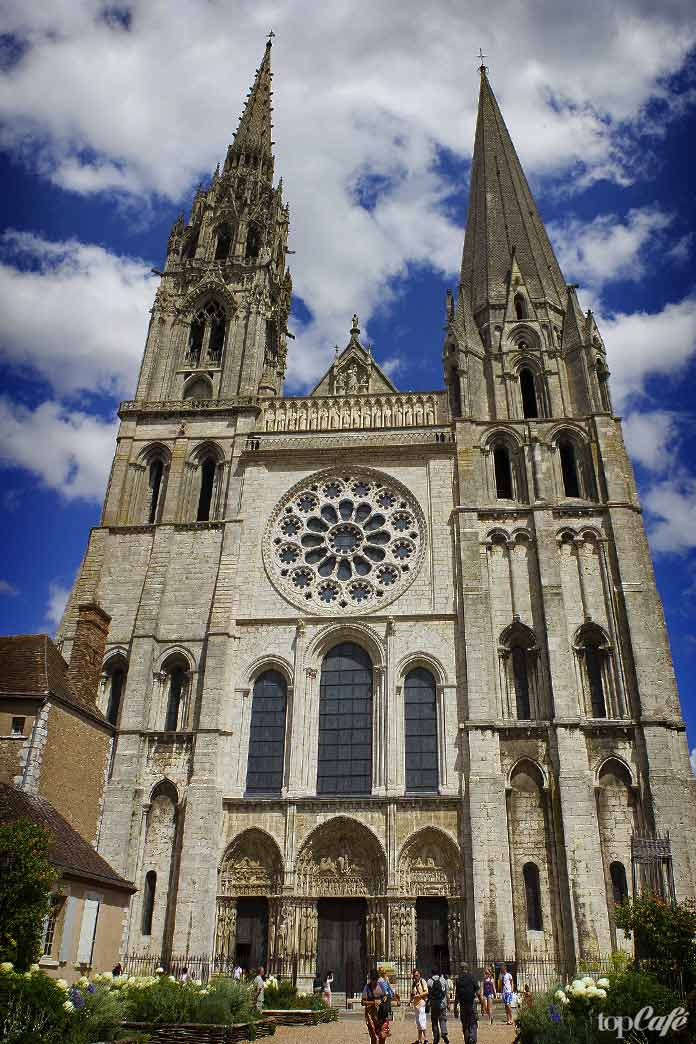 Готическая архитектура Франции: Собор вШартре