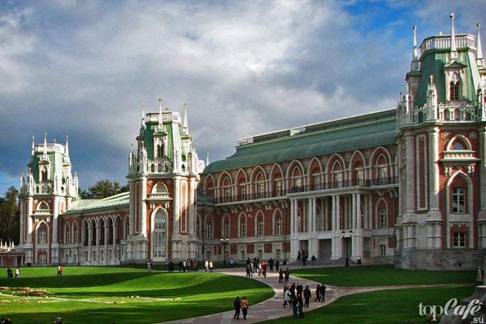 Удивительные готические места Москвы: Царицыно