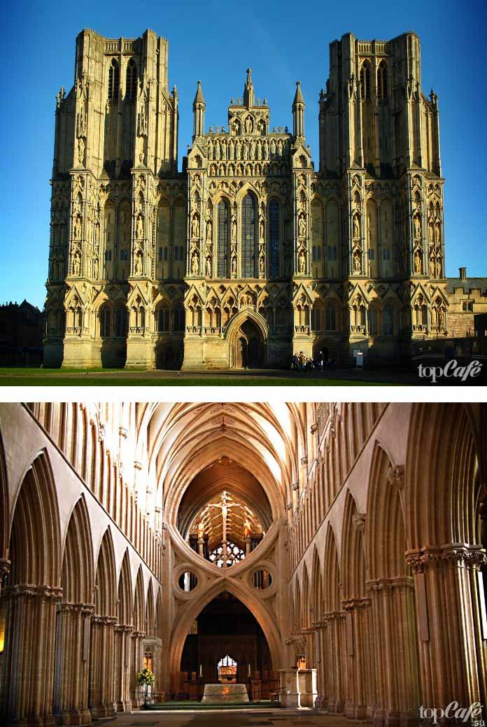 Английская готическая архитектура: Уэлский собор