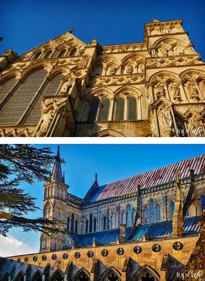 Английская готическая архитектура: Солсберийский собор