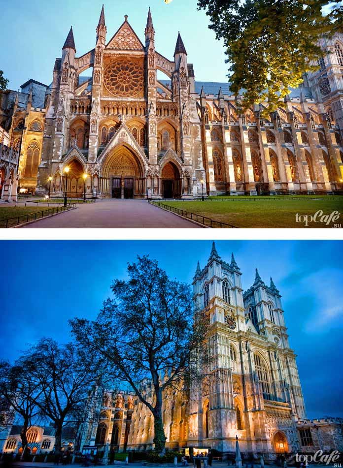 Английская готическая архитектура: Вестминстерское аббатство