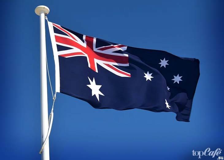 Флаг Австралии. CC0