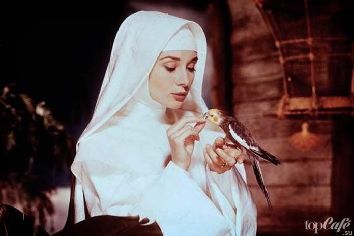 Список лучших фильмов с Одри Хепберн: История монахини.1959