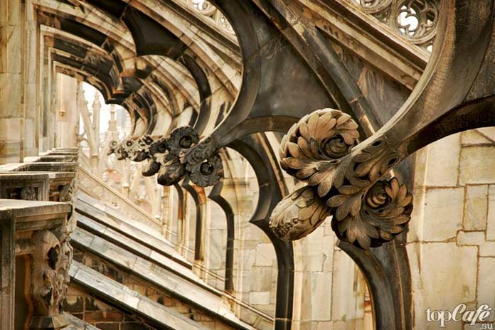 Конструктивные особенности готики Италии