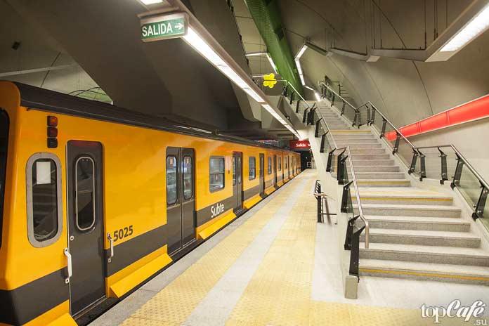 Факты про Аргентину: Железные дороги иметрополитен