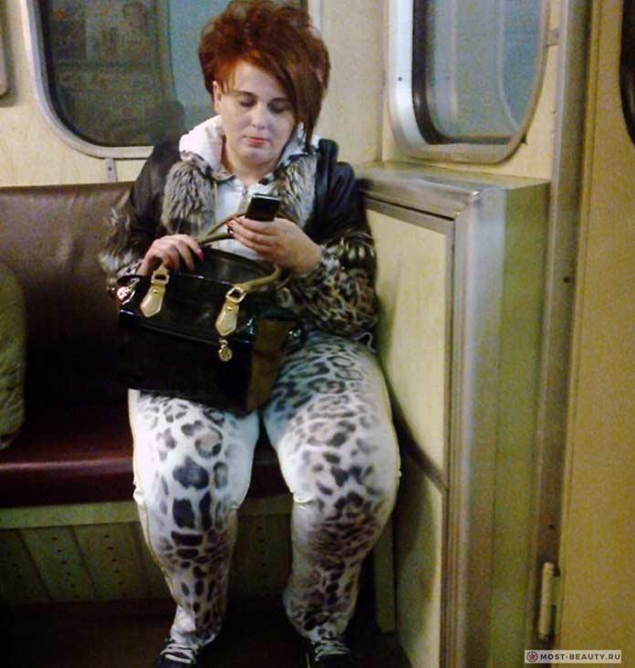 Фотографии женщин в метро: Анималистичный стиль к лицу каждой женщине!