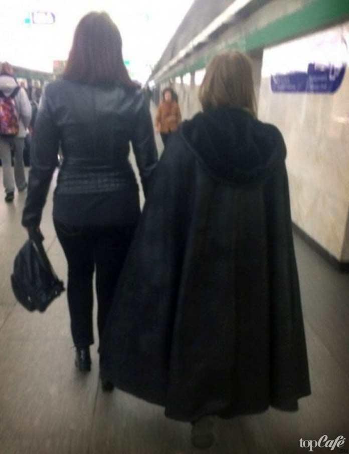 фокусник в метро