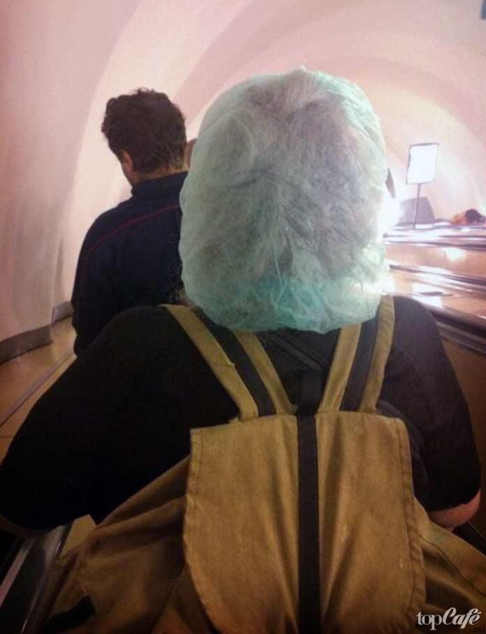 фотографии женщин в метро