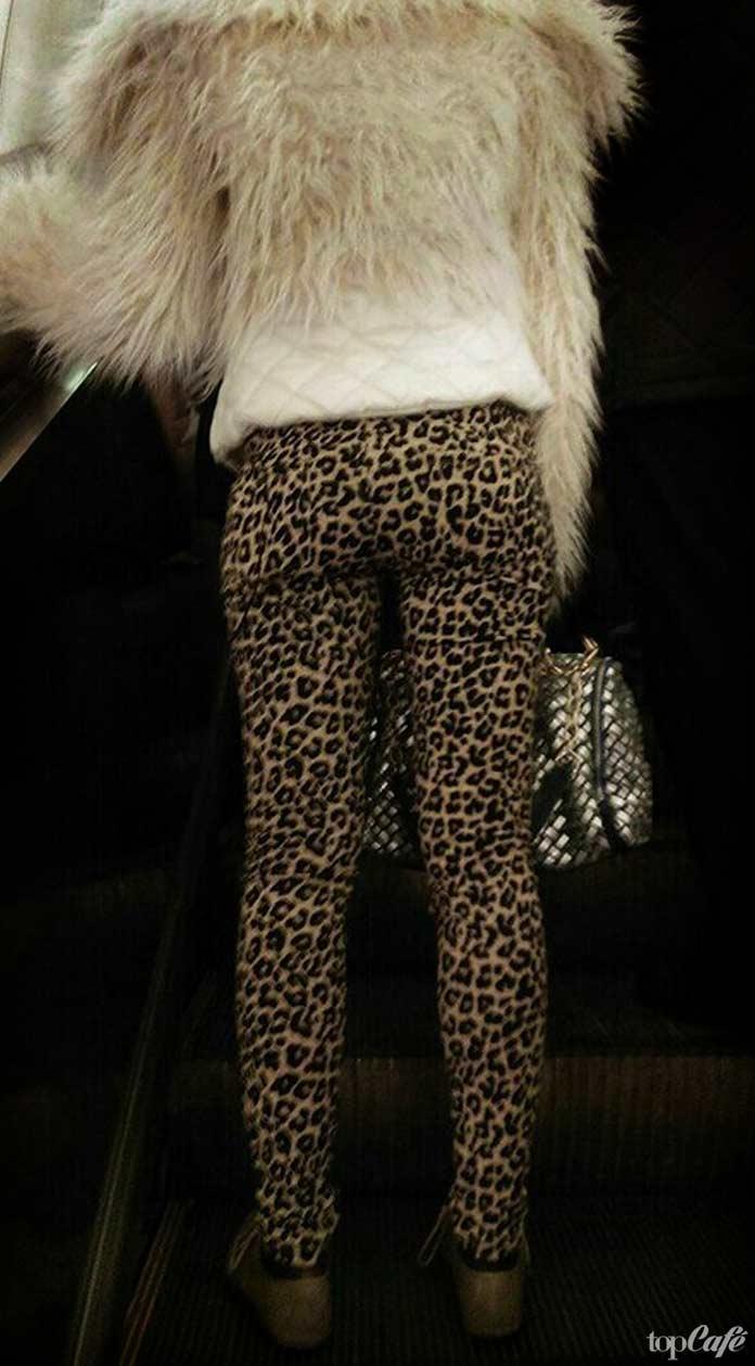 леопардовый низ