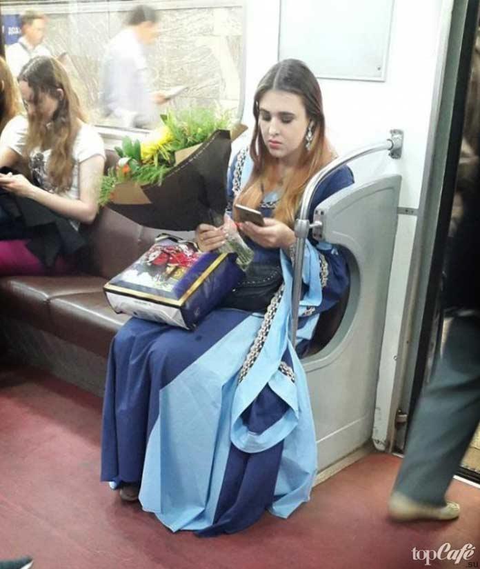 Ваше высочество в метро