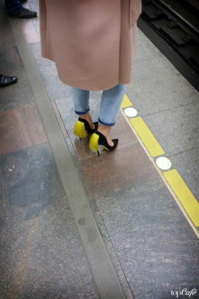 Туфельки с хвостиками