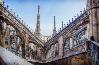 Миланский собор - яркий пример итальянской готики