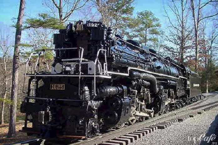 Самые мощные паровозы: H 8Allegheny