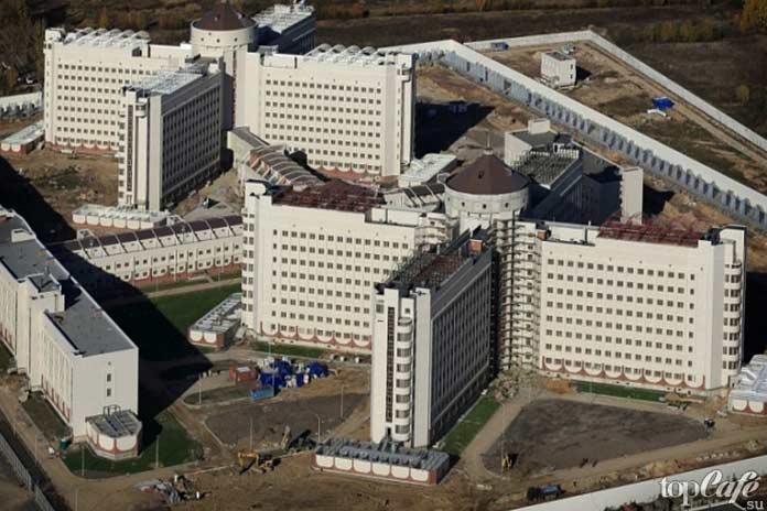 Самые большие тюрьмы: Новые Кресты