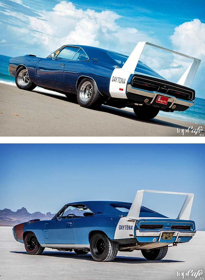 15 фактов об американских маслкарах: 1969 Dodge Charger Daytona