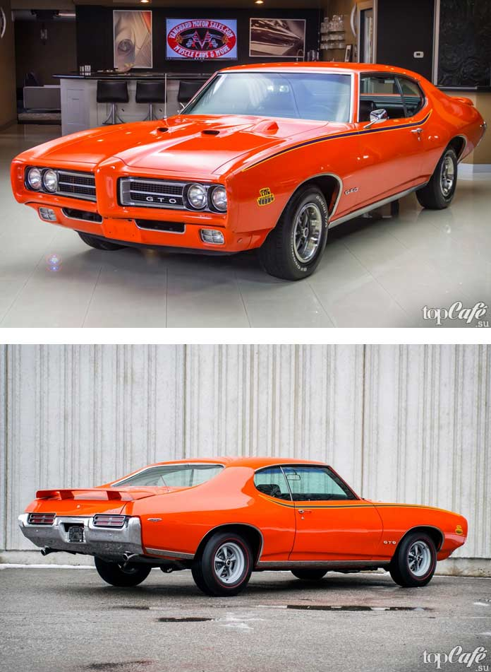 15 фактов об американских маслкарах: 1969 Pontiac GTO Judge