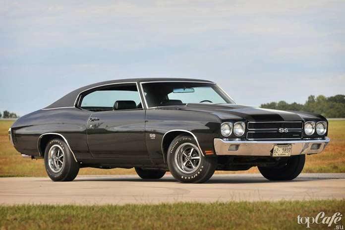 15 фактов об американских маслкарах: 1970 Chevrolet Chevelle LS6