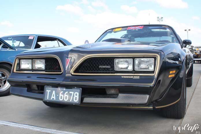 15 фактов об американских маслкарах: 1978 Pontiac Firebird Trans Am