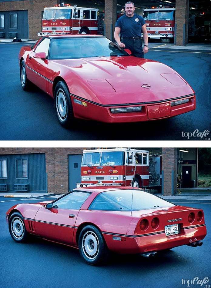 15 фактов об американских маслкарах: 1984 Chevrolet Corvette