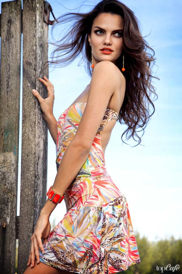 Барбара Фиалью - одна из самых прекрасных бразильских моделей