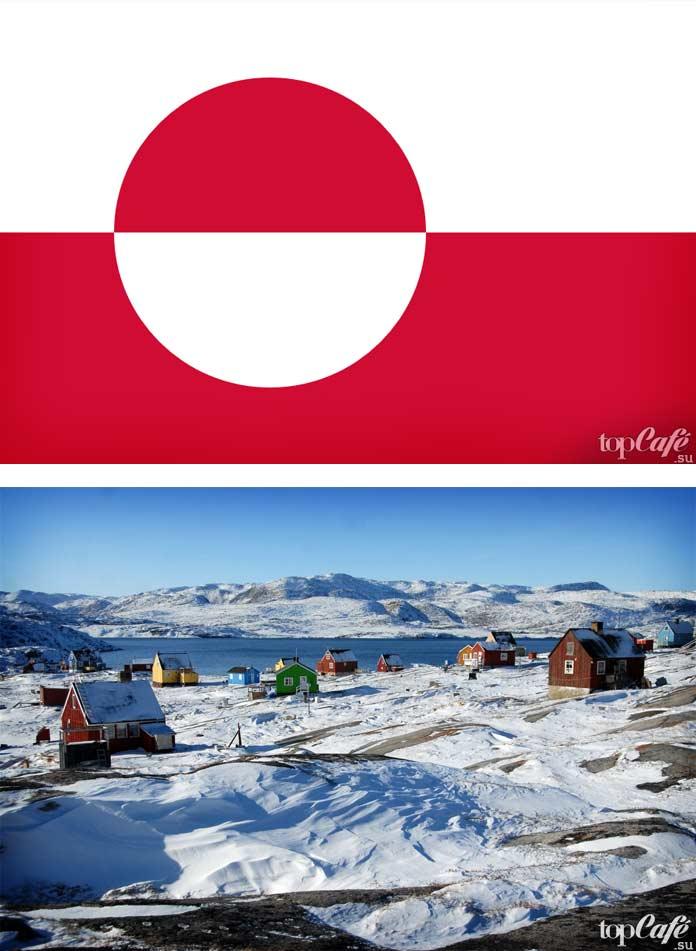 Самые холодные страны: Гренландия