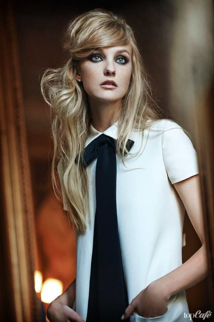 Кэролин Трентити - одна из самых красивых бразильских моделей