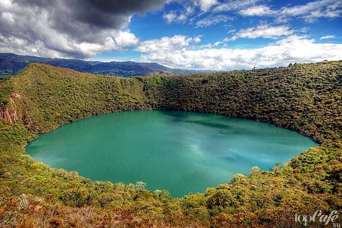 Главные достопримечательности Колумбии: Озеро Гуатавита