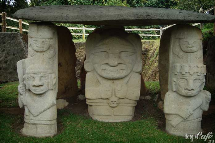 Парк каменных скульптур Сан Агустин
