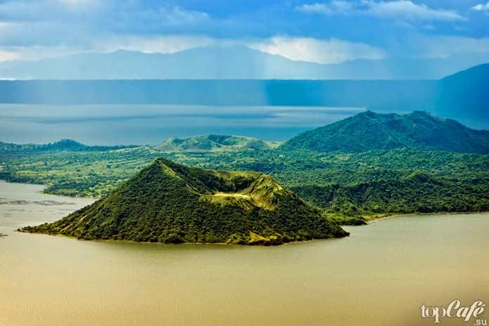 Тааль, Филиппины