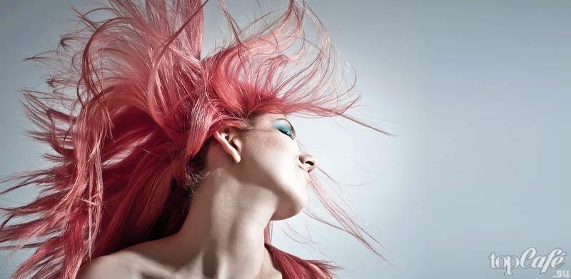 Держите волосы подальше от лица