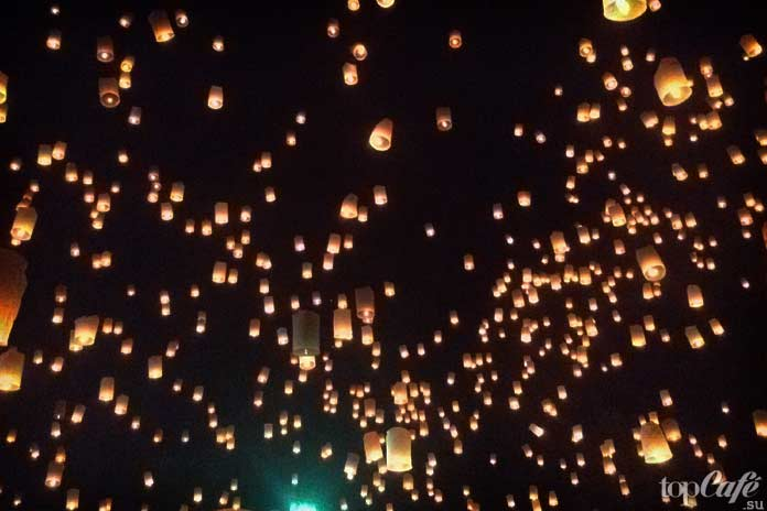 Фестивали ЛиПэн иЛой Кратонг (Чианг май, Таиланд)