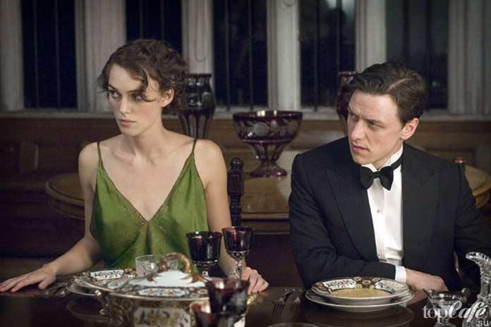 Список знаменитых фильмов с Кирой Найтли: Искупление. 2007