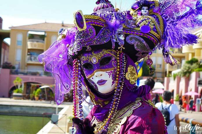 Венецианский карнавал (Венеция, Италия)