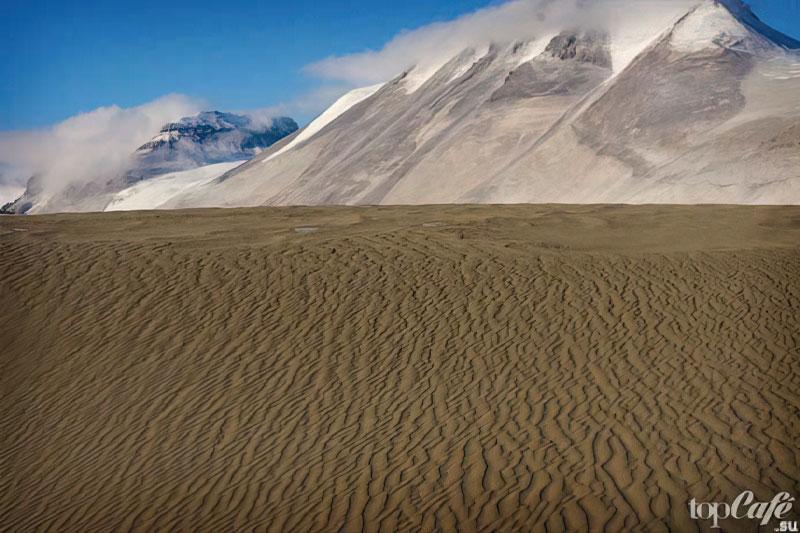 Крупнейшие пустыни: Пески в Антарктиде