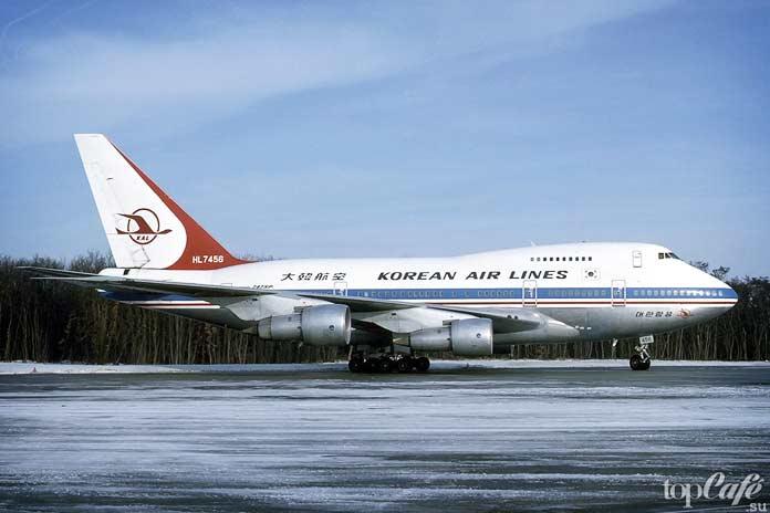 Сбитый Боинг 747