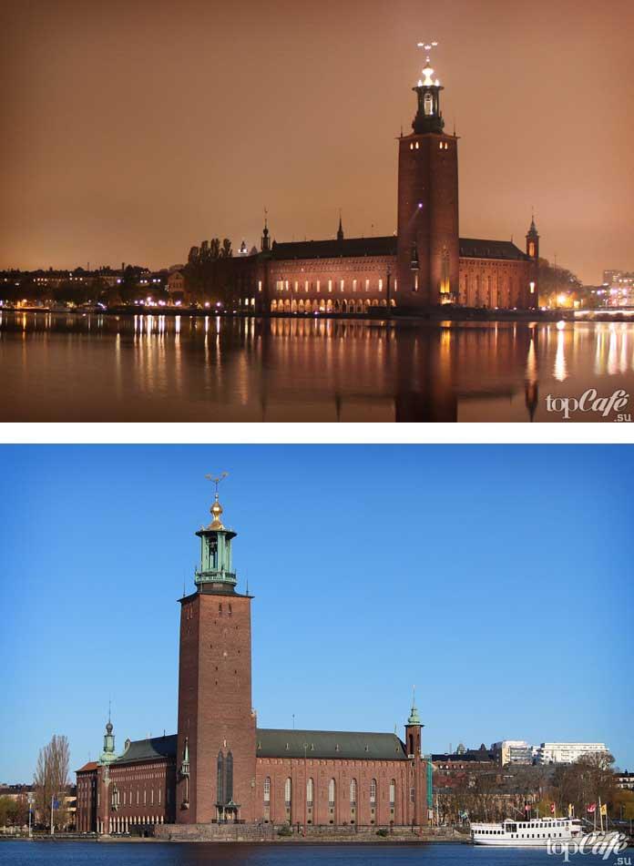 Здание мэрии Стокгольма