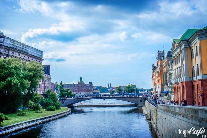 Каналы Швеции
