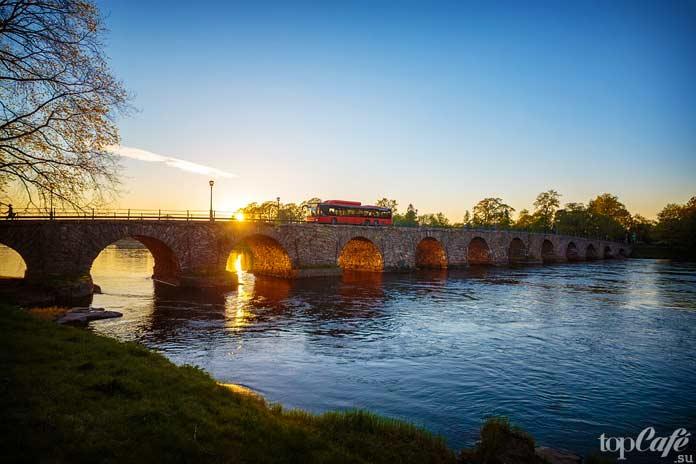 Красивейший мост в Швеции