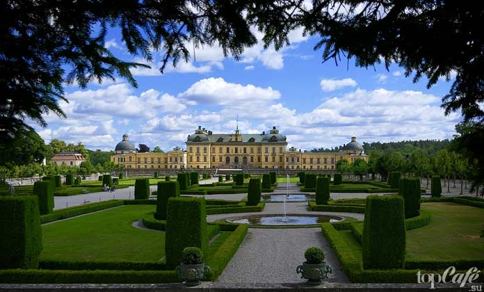 Дворец в Швеции