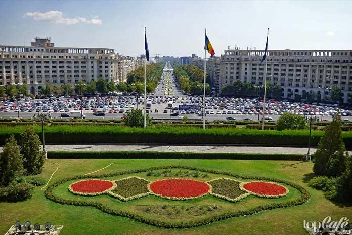 Бухарест - одно из прекрасных мест Румынии