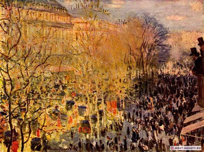 «Бульвар Капуцинок в Париже» (1873)