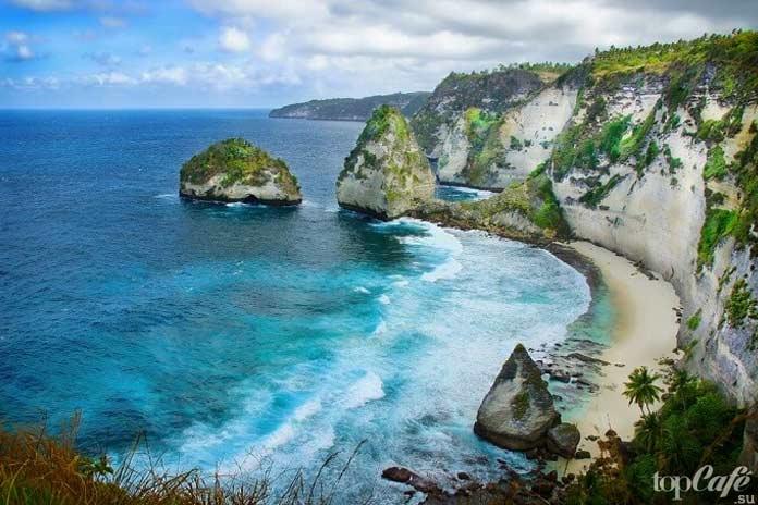 Дайвинг у побережья острова Нуса Пенида