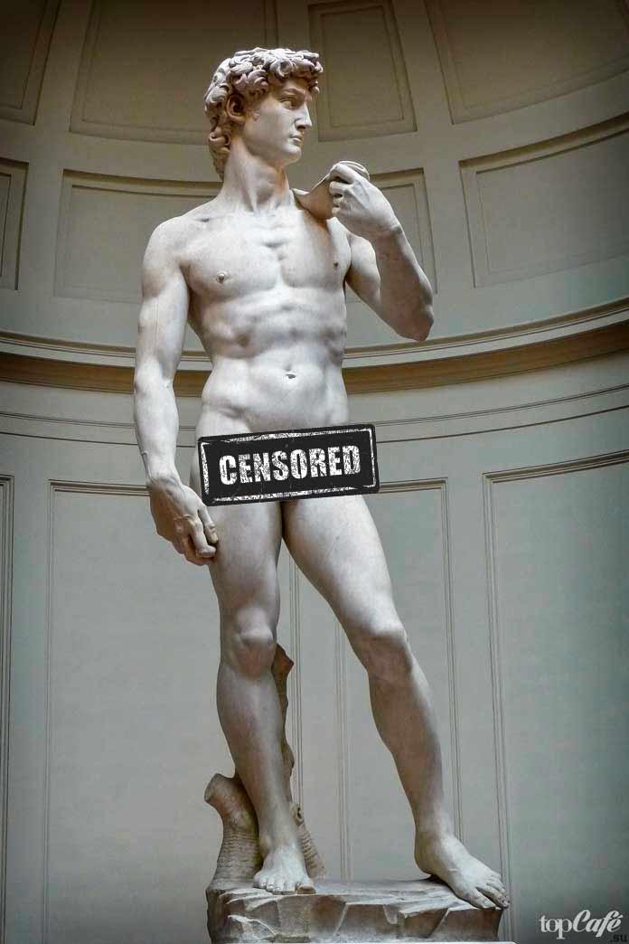 Давид (1503). Скульптура Микеланджело
