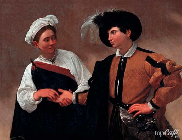 Гадалка (1596-1597). Рейтинг лучших картин Караваджо