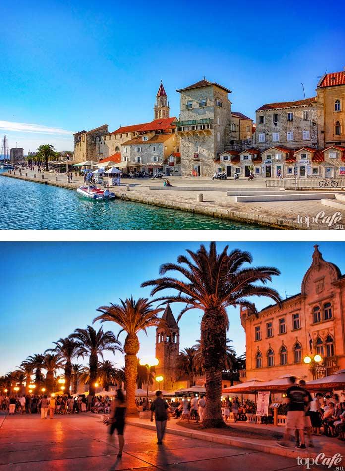 Историческая часть Трогира - красивый город Хорватии