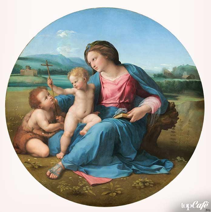 «Мадонна Альба» (1511). Рафаэль Санти